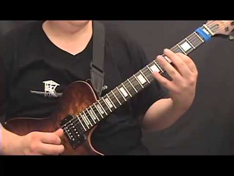 lead guitar lesson 2 legato exercises for developing great guitar technique youtube. Black Bedroom Furniture Sets. Home Design Ideas