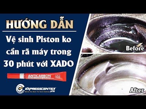 Vệ Sinh Piston Không Cần Rã Máy Trong 30 Phút | XADO Anti Carbon | [ExpressCenter.vn]