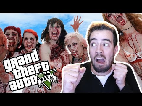 COMO SOBREVIVER AO ZOMBIE APOCALIPSE? | GTA V (Zombies)