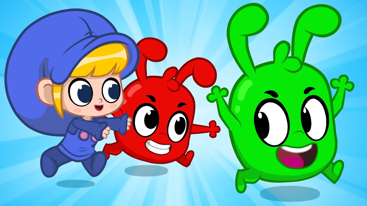 Morphle and Orphle Play Tag   Activities For Kids   Morphle vs Orphle - Kids Cartoons