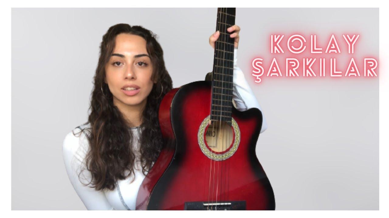 BASİT AKORLU 3 KOLAY ŞARKI ! yeni başlayanlar için şarkılar - 5 (Şarkı akorları açıklama kısmında)