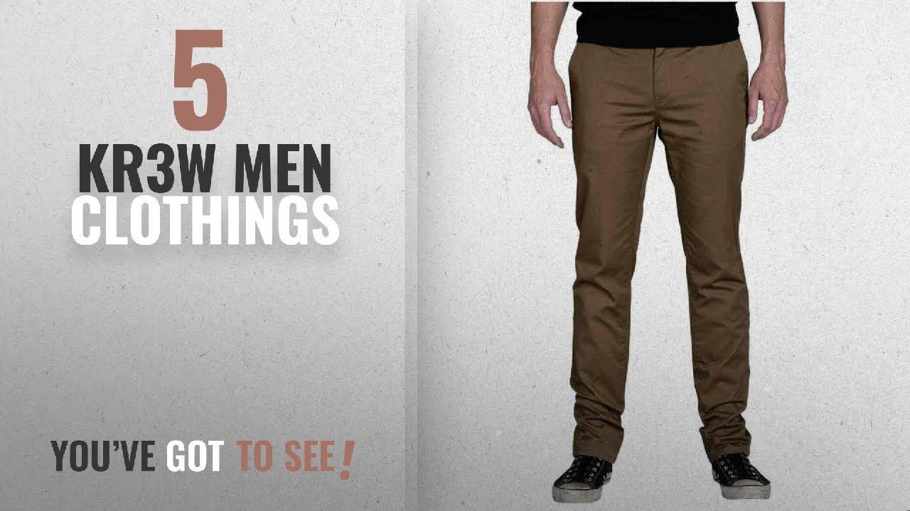 835ef6bb5b56 Top 10 Kr3W Men Clothings [ Winter 2018 ]: KR3W Men's K Slim Chino ...