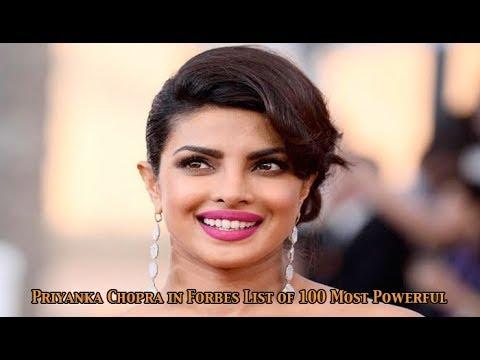 Bollywood Star, Priyanka Chopra in Forbes List of 100 Most Powerful  Women: Newspoint Tv