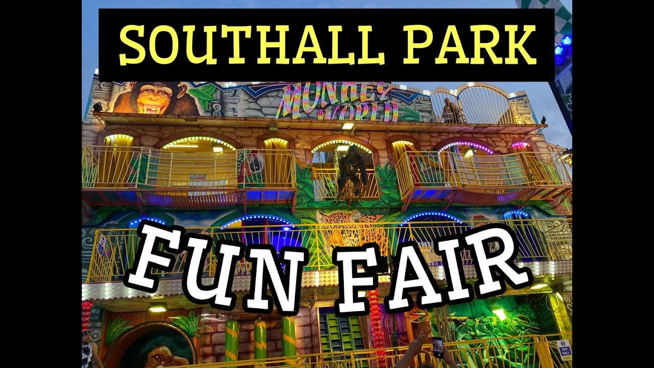 SOUTHALL PARK FUN FAIR | Punjabi Vlog | LADDI SAHOTA