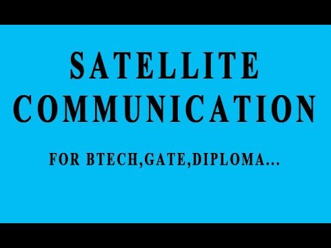 Satellite Communication In Hindi