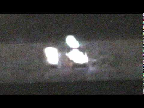 UFO AMAZING TRIANGLE fresno LOOKED at and confirmed REAL 100% PROOF !!