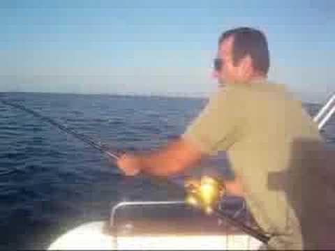 George fishing albacore tuna outside of rethymnon crete for Elias v fishing