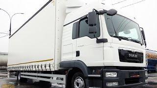Обзор грузовика полной массой до 12 тонн - MAN TGL 12.250