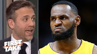Keep that same energy! – Max Kellerman reacts to LeBron's comments on load management | First Take