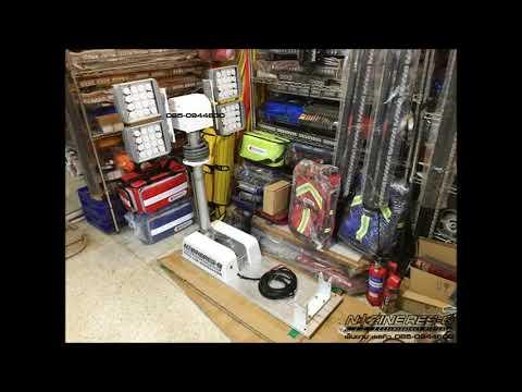 ไฟทาวเวอร์ LED ไฟส่องสว่าง 085-0944600 ติดรถกู้ภัย รถอุปกรณ์กู้ภัย รถอุปกรณ์ตัดถ่าง รถพยาบาล ชลบุรี