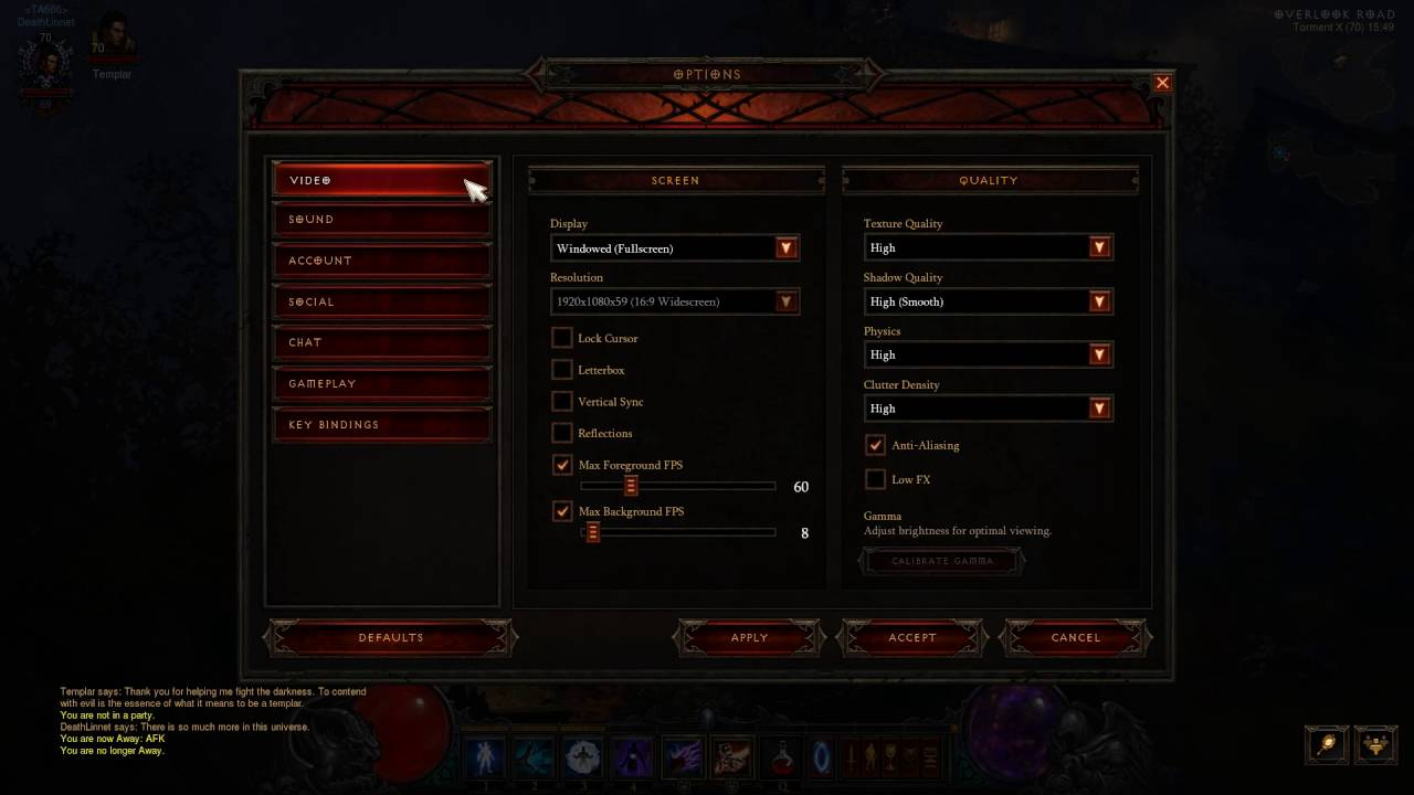How To Disable Anti Aliasing In Diablo 3