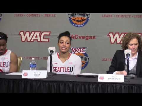 WBB | WAC Tournament Semifinal Highlights