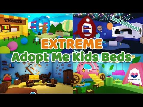 Adopt Me Hacks | Children's Bedroom Speed Build and Tour Part 3