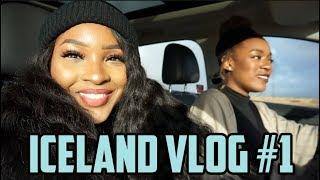 ICELAND VLOG #1 : BLUE LAGOON, BLACK SAND BEACH, SKÓGASS FALLS | TRAVEL | KENSTHETIC