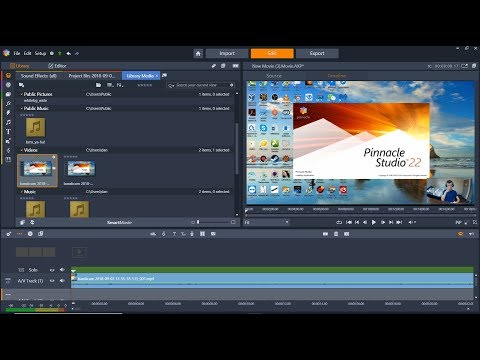 pinnacle-studio-22-youtube-video-editing-software-review-&-tutorial,-how-to-fix-circle-grey-arrows