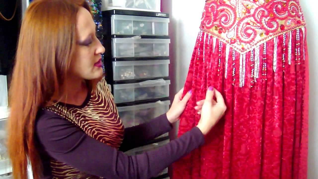 Вышивка на костюмы для восточных танцев