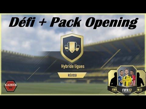 FIFA 17 // FUT - Défi Création D'équipe Ligue Et Petit Pack Opening!