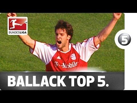 Michael Ballack - Top 5 Goals