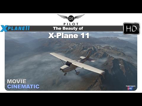 The Beauty of X Plane 11   Flight Around the X-Plane World