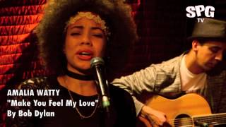 Bob Dylan - Make You Feel My Love cover by Amalia Watty