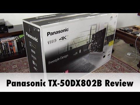 Panasonic TX-50DX802B 4K UHD HDR TV Review
