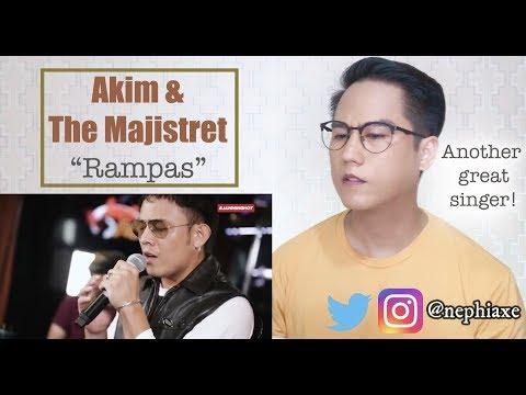 Akim & The Majistret - Rampas (LIVE) - JammingHot | REACTION