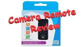 jJC SR-F2 Camera Remote test on Sony CX-450