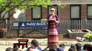 Leahy School Buddy Bench Dedication 2016