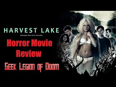 HARVEST LAKE ( 2016 Ellie Church ) Sexually Charged Horror Movie Review
