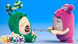 बेबीसिटिंग विपदा    हिंदी कार्टून   Oddbods Hindi