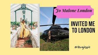 Vlog 8 || My London Trip with Jo Malone London