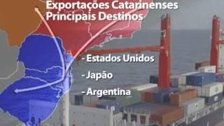 Exportações de Santa Catarina superam os números de 2008