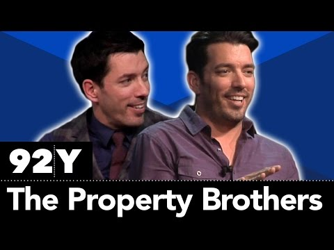 """HGTV's """"Property Brothers"""" Jonathan and Drew Scott with Willie Geist"""