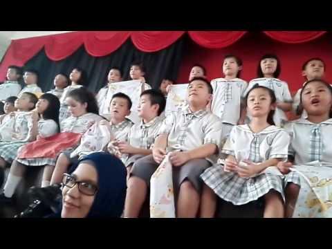 Batik Attack di Kingston School Medan bareng Medan Heritage
