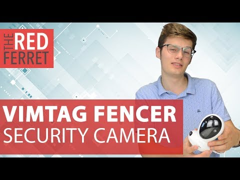 Vimtag Fencer - The Non James Bond Security Camera! [REVIEW]