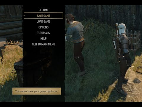 Witcher 3s never save again bug (XBOX One)