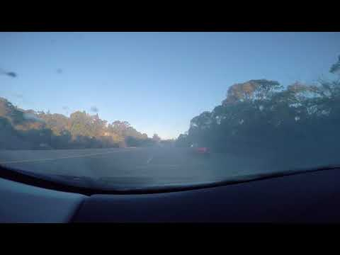 Drive from Cupertino to Hillsdale (part1)