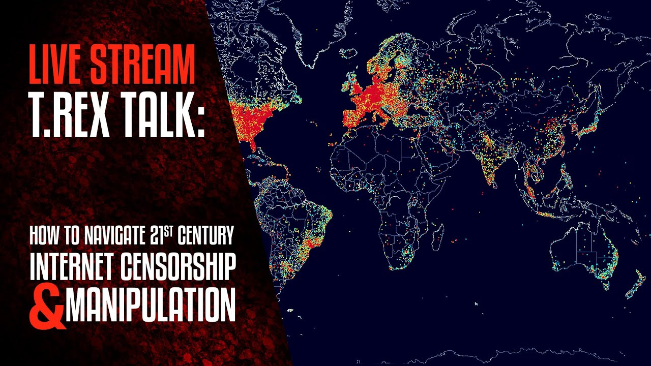 TREX TALK: How to Navigate Internet Censorship and Manipulation