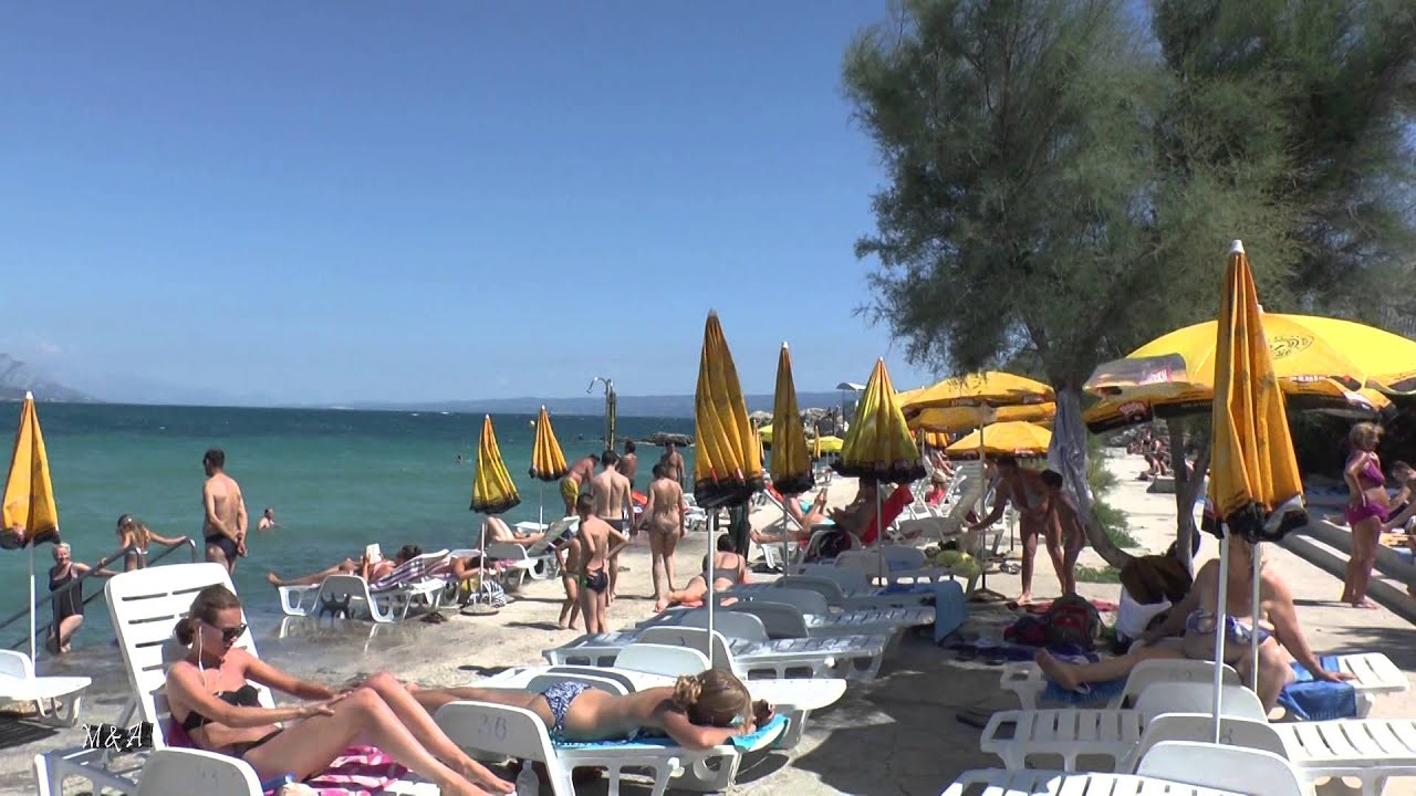 Beach Croatia Split Bacvice