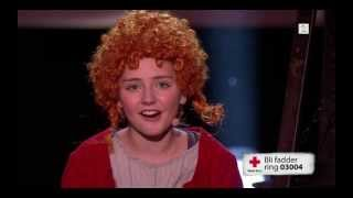 """Tomorrow"" / ""I Morgen"" from Annie, Artistgallaen TV2 - Mathea-Mari (13)"