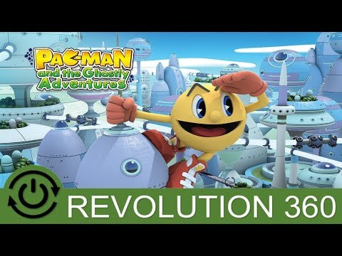 Pac-Man and the Ghostly Adventures Introductory Gameplay Xbox 360