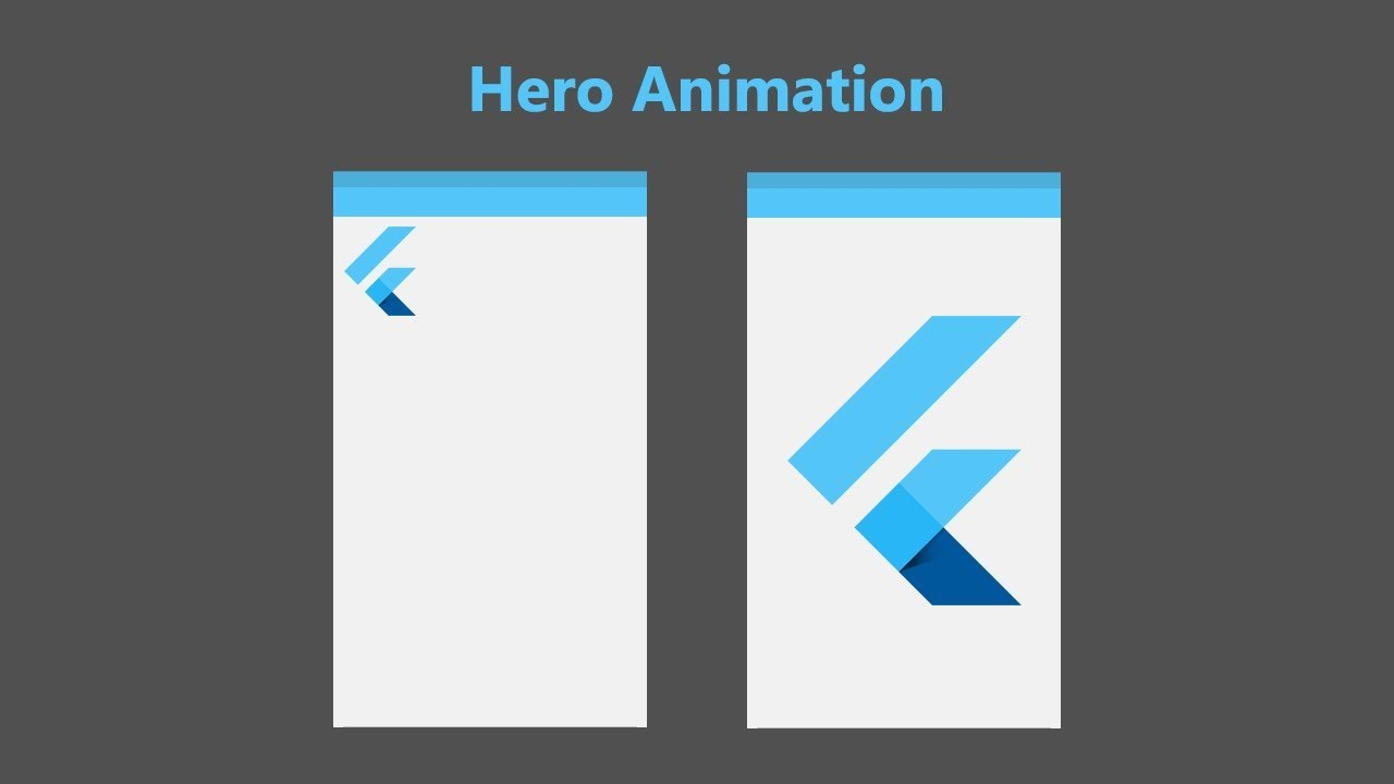 Flutter - Hero Animation Tutorial