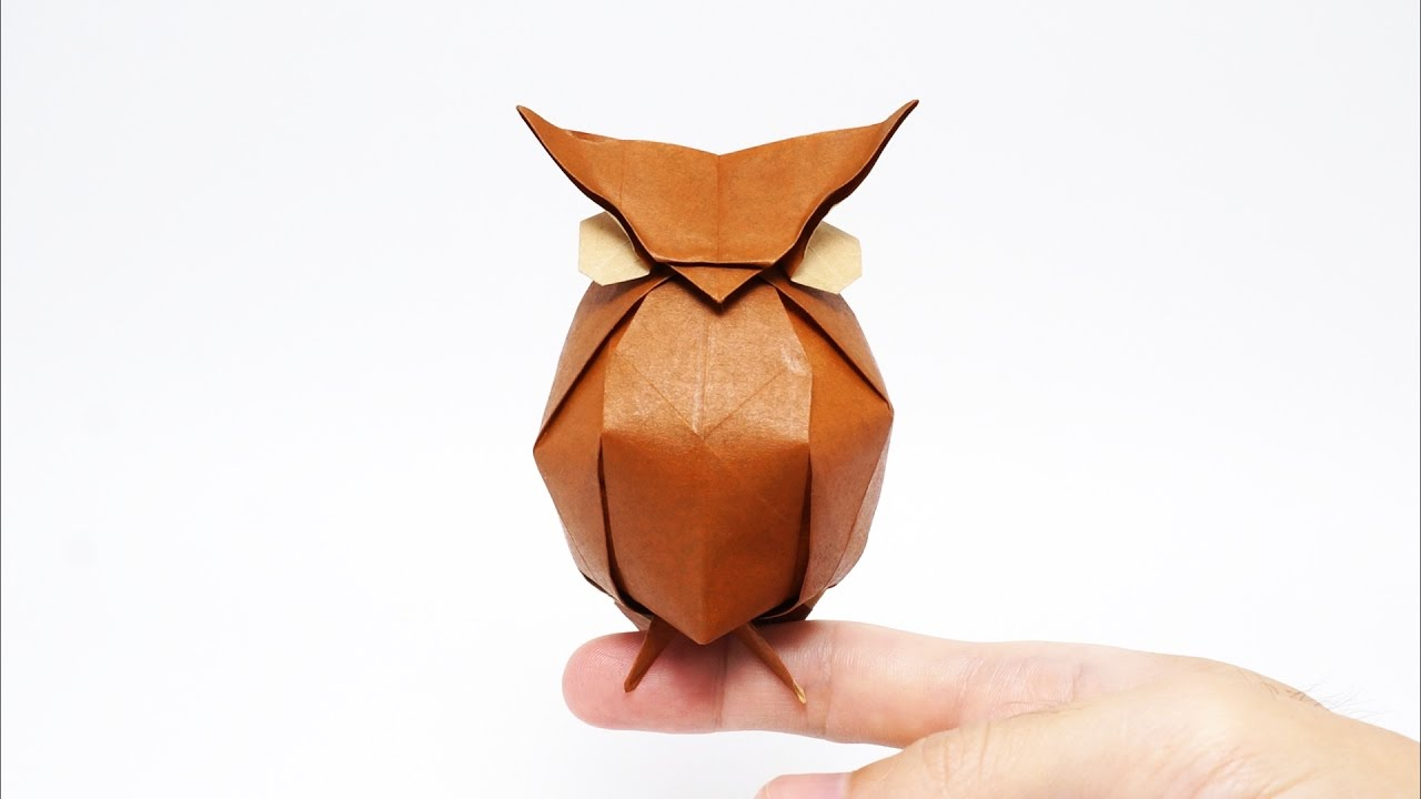 How to make a 3D origami owl - YouTube | 720x1280