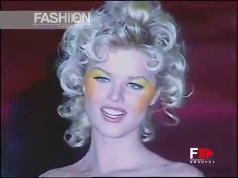 GIANNI VERSACE Spring Summer 1993 Milan - Fashion Channel