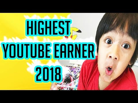 7 Years Old Boy Earn $22 Millions From Youtube 2018 - Highest Youtube Earner 2018 - Ryan ToysReview thumbnail