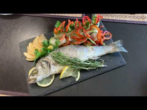 Запеченная рыба с овощами, пальчики оближешь! Сервировка стола в домашних условиях!