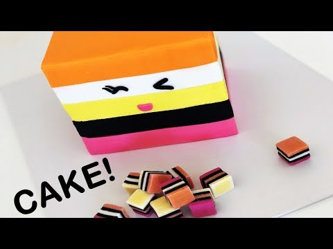 The BEST Liquorice All Sorts CAKE!