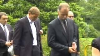 Pohřeb Karla Rachůnka ve Zlíně a rozloučení Josefa Vašíčka v Havlíčkově Brodu