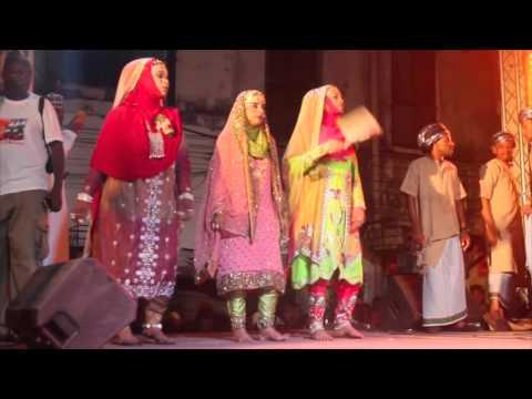 Oman Dance during the 2015 Lamu Cultural Festival