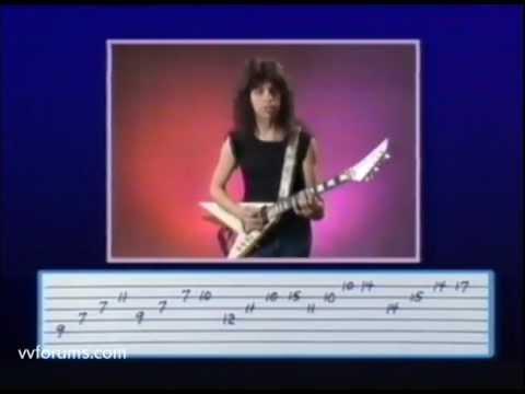 Vinnie Vincent - Metal Tech Guitar Video - Complete